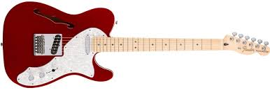 deluxe tele® thinline electric guitars deluxe tele® thinline