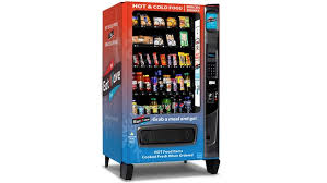 Used Cold Food Vending Machines Mesmerizing Microwavepacking EatWave Vending Machine Delivers Cold Food And Hot