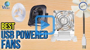 Top 10 USB Powered Fans of 2017 | Video Review