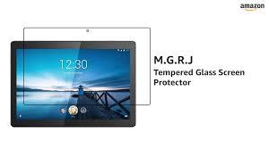M.G.R.J® Tempered Glass <b>Screen Protector for</b> Lenovo Tab M10 ...
