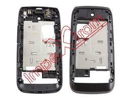 Cover intermedia black for Nokia Asha 310