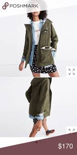 Madewell X Penfield Kasson Jacket In Olive Since 1975