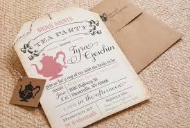 wedding shower tea invitations unique wedding banner free