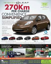 Introducing Nissan Leaf 2016 with 270km range by Spark EV | Buy ...