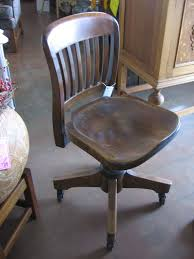 vintage office chair. vintage wooden office chair home