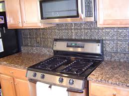 Tin Backsplashes For Kitchens Awesome Kitchen Backsplash Options Metal Small Kitchen Gallery
