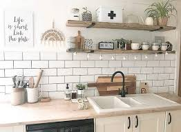 the top 39 kitchen shelving ideas