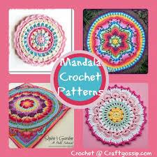 Free Crochet Mandala Pattern Amazing Crochet Mandala Patterns Crochet