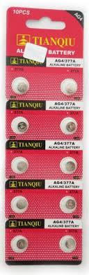 Ag4 Battery Lr66 Lr626 Sr626sw 377 Free Shipping 10 For