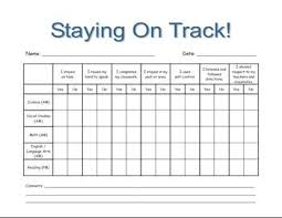 Staying On Track Student Behavior Stay On Track Kids