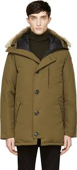 ... Canada Goose Green Down Fur Chateau Parka ...