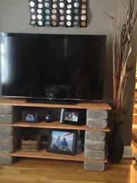 Diy Wood Tv Stand Astonish 1000 Images About DIY Tv Stands On Pinterest  Kitchen Ideas