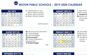 Board Of Education Approves 2019 2020 And 2020 2021 School Year Calendars