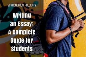 writing an essay a complete guide for students scribendi writing an essay a complete guide for students