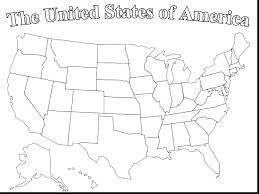 Usa Map Coloring Page Map Coloring Page Blank Central Map Coloring