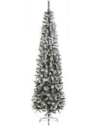 1.95M (6.5ft) PVC Flocked Spruce Pine Artificial Christmas Tree