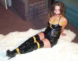 Women in tigh boot bondage