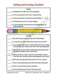 essay revision essay revision checklist essay revision