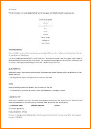 9 Resume Template For Wordpad Applicationleter Com