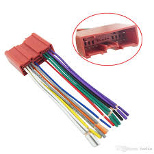 feeldo car radio cd player wiring harness audio stereo wire universal automotive wiring harness at Car Wiring Harness