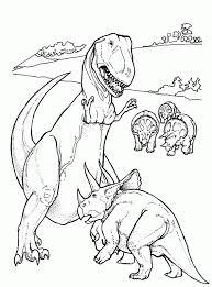 Trend T Rex En Andere Dinosaurussen Kleurplaat Van De Dag Paul Behang