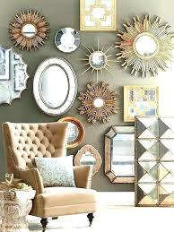 wall mirrors gilbert wall mirror mirrors home sunburst decorative set decor bathroom large