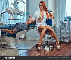 hot office pic. A Sexy Hot Redhead Dentist Woman, At Work In The Office, Taking Care Of Her Patient. \u2014 Photo By Fxquadro Office Pic E