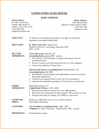 Accountant Job Resume Radiology Assistant Cover Letter Personal