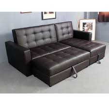 faux leather manhattan sofa bed recliner 2 3 4 seater with storag modern design brown