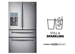 samsung french door refrigerator. enjoy still \u0026 sparkling, now with counter depth samsung french door refrigerator
