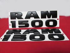 black dodge ram logo. 2pcs oem black dodge ram 1500 emblem badge nameplate 3d decal matte new 1fu ram logo s