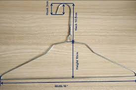 Hanger Wire Gauge Chart Wire Cloth Hanger Galvanized Hot Dipped Flat And Notched