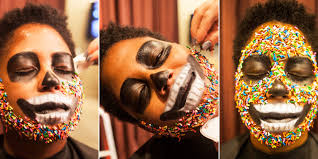 3 easy makeup ideas for a haunting good time huffpost