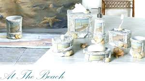bathroom decorating ideas diy. Beach Bathroom Decor Decorations Seashell Bath Set Best Themed Decorating Ideas Diy
