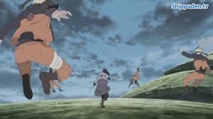 Naruto vs Sasuke   sasuke uses universal pull - YouTube