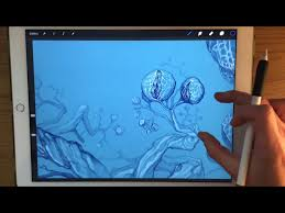 Drawing On Ipad Pro Apple Pencil Drawing How A Doodle On Ipad Pro Turns Into A