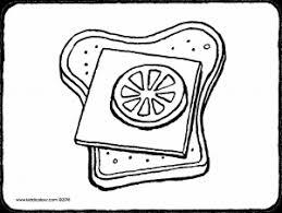 Een Boterham Met Kaas En Tomaat Kiddicolour