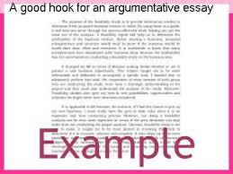 writing a good argumentative essay a good hook for an argumentative essay term paper writing service