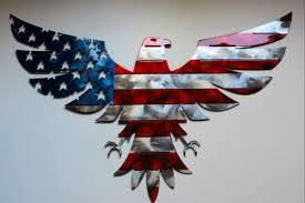 home décor patriotic american bald