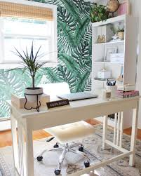 home office home office makeover emily. Over At Sugar And Cloth, This Gorgeous Study Room Makeover Completely Transformed The Awkward Lost \u0026 Found Space We All Begrudgingly Have. Home Office Emily N