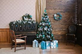 Image December 25th Living Room Christmas Tree Decoration Superhit Ideas 26 Fascinating Silver Blue Decoration Ideas For Christmas