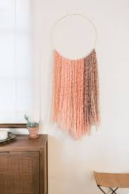 how to create your own wall hanging by laurenconrad com