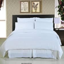 solid white 8 piece bedding set super soft microfiber sheets duvet alternative