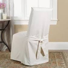 summertime chair slipcovers freshen up a dining room table found it at wayfair sure fit cotton duck dining chair slipcover