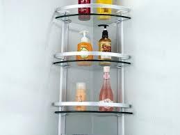 bathroom corner wall shelf unit best home decor ideas smart mounted shelves stainless steel full size