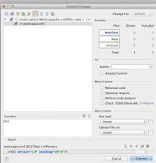 Phpstorm git attempts to commit workspace.xml - Stack Overflow