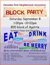 Block Party Flyers Templates 50 Block Party Flyer Templates Culturatti