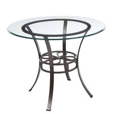 glass top round dining table. Round Dining Table Metal Base Room Furniture Retro Bronze Polished Based With Open Shelf And Clear Glass Top