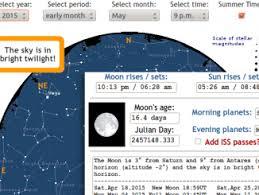 Uk Sky Chart Astronomy Now