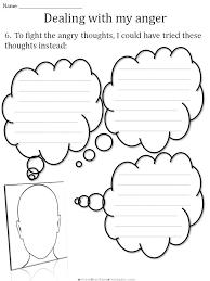 CBT Children's Emotion Worksheet Series: 7 Worksheets for Dealing ...